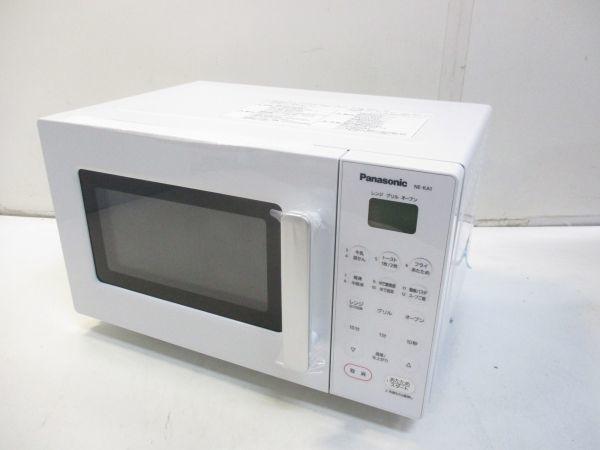 ○新品 Panasonic パナソニック オーブンレンジ エレック NE-KA1-W ホワイト 18年製 B-5914○_画像2