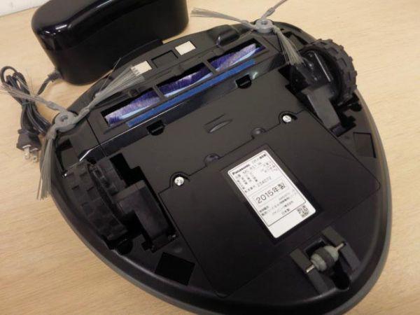 1円スタート 2015年製 Panasonic パナソニック ロボット 掃除機 MC-RS1 RULO ルーロ_画像4