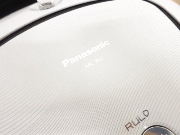 1円スタート 2015年製 Panasonic パナソニック ロボット 掃除機 MC-RS1 RULO ルーロ_画像3