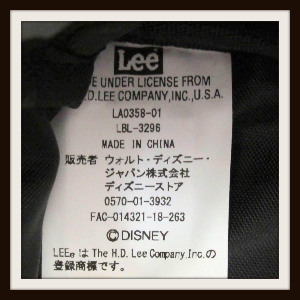 完売【Leeとの特別共同企画】リュックサック バックパック ミッキー ディズニー ストア リュック LEE【P5【R2019-03-08-168_画像6