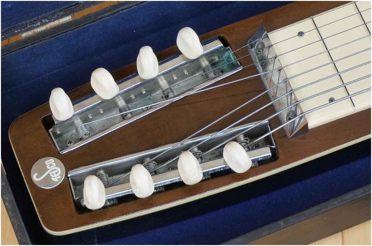 【希少】TEISCO★テスコ★8弦スチールギター★ハワイアンギター★MODEL 8N ケース付き_画像2