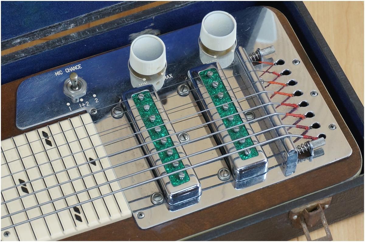 【希少】TEISCO★テスコ★8弦スチールギター★ハワイアンギター★MODEL 8N ケース付き_画像3