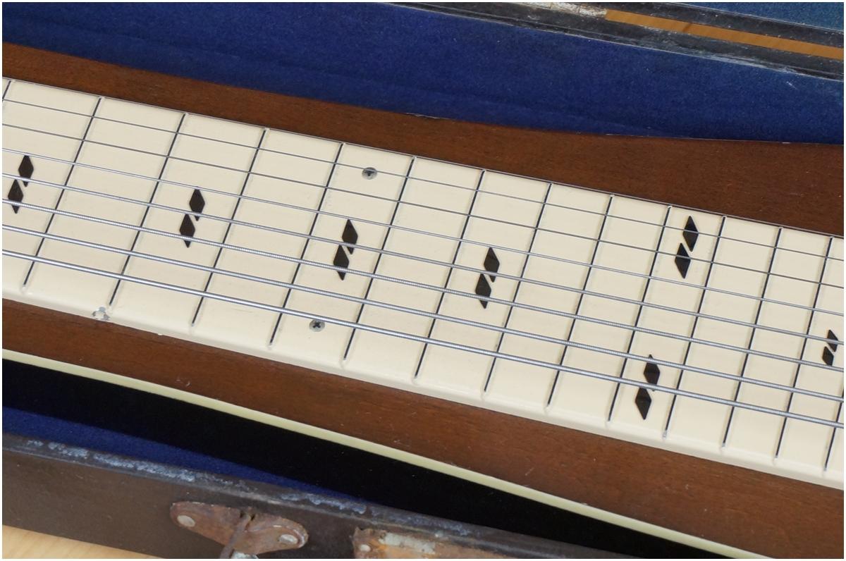 【希少】TEISCO★テスコ★8弦スチールギター★ハワイアンギター★MODEL 8N ケース付き_画像4