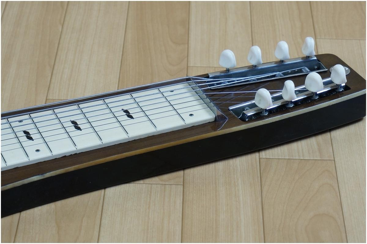 【希少】TEISCO★テスコ★8弦スチールギター★ハワイアンギター★MODEL 8N ケース付き_画像9