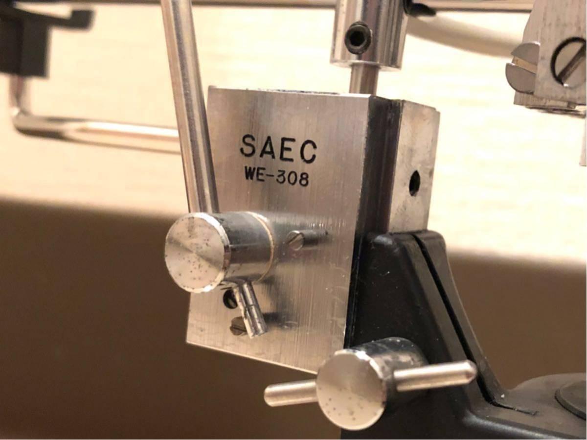 トーンアーム サエク/SAEC WE-308 フォノケーブル付属_画像2