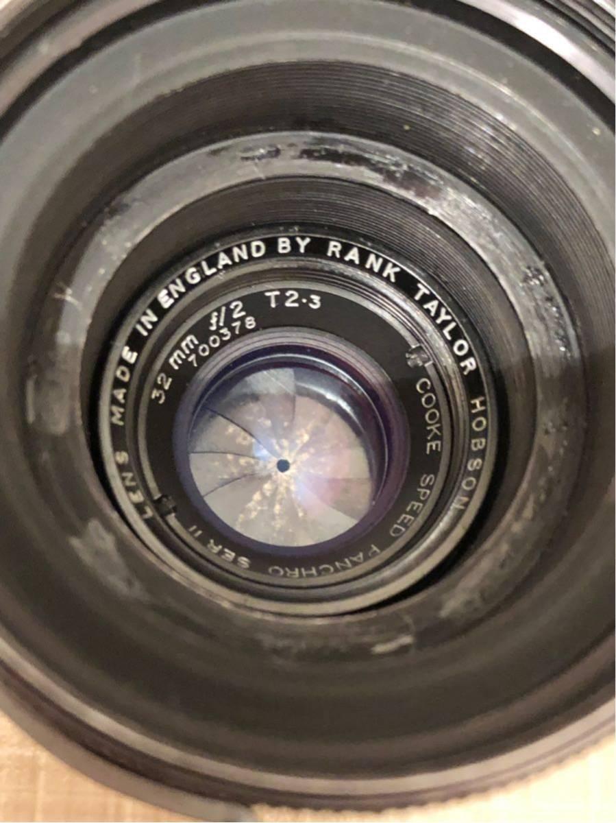 貴重シネレンズ Rank Taylor Hobson Cooke Speed Panchro SER II 32mm f/2 T2.3 Arriflex マウント_画像2
