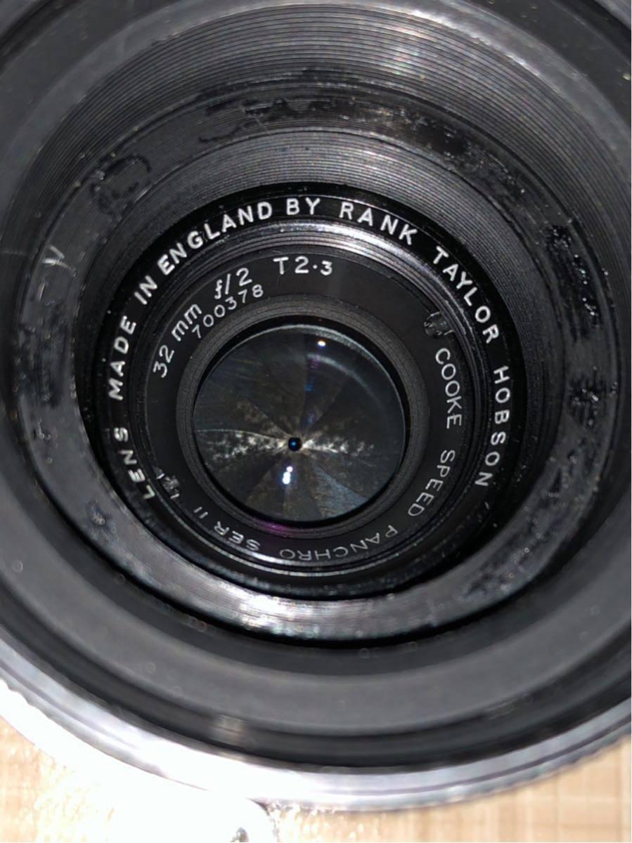 貴重シネレンズ Rank Taylor Hobson Cooke Speed Panchro SER II 32mm f/2 T2.3 Arriflex マウント_画像3