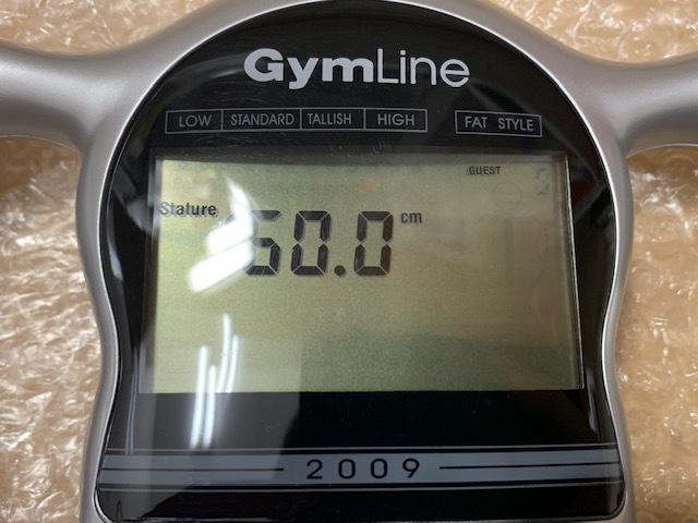 1円!!【2183】デジタル体脂肪計 箱、説明書つき 健康器具 測定器 検査_画像2
