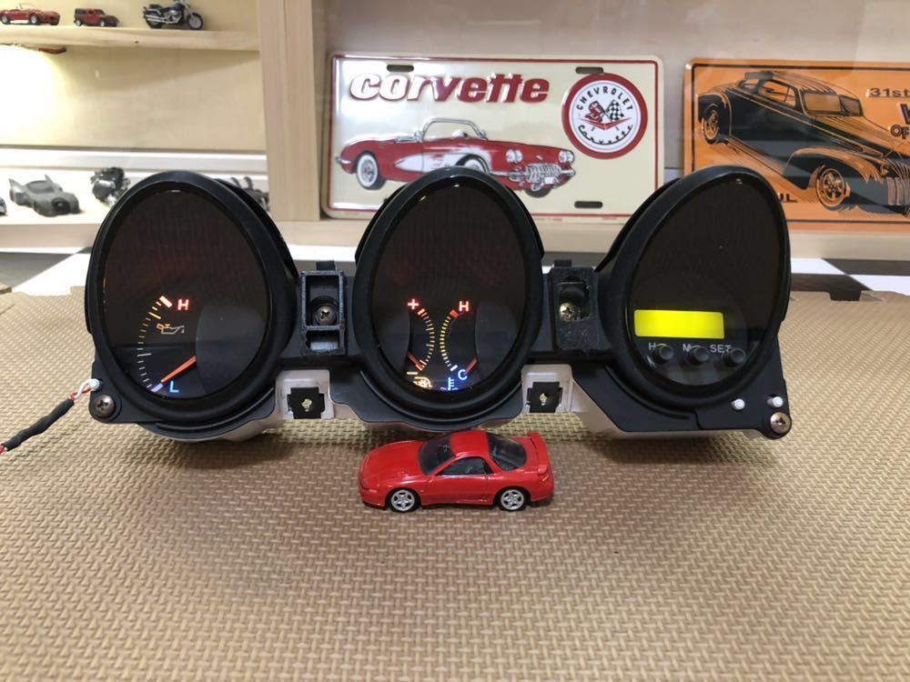 三菱GTO 中期純正3連メーター LED加工品_画像6