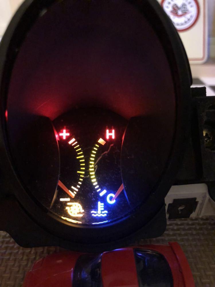 三菱GTO 中期純正3連メーター LED加工品_画像3