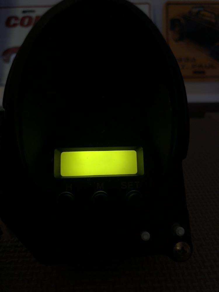 三菱GTO 中期純正3連メーター LED加工品_画像4