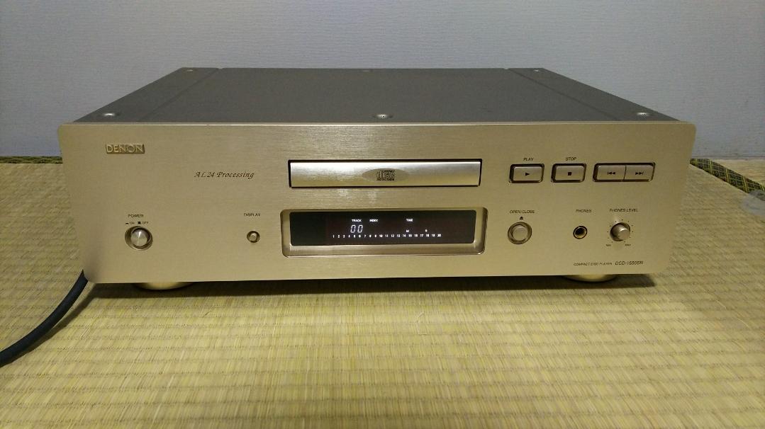 DENON CDプレーヤー DCD-1650SR (ジャンク品)