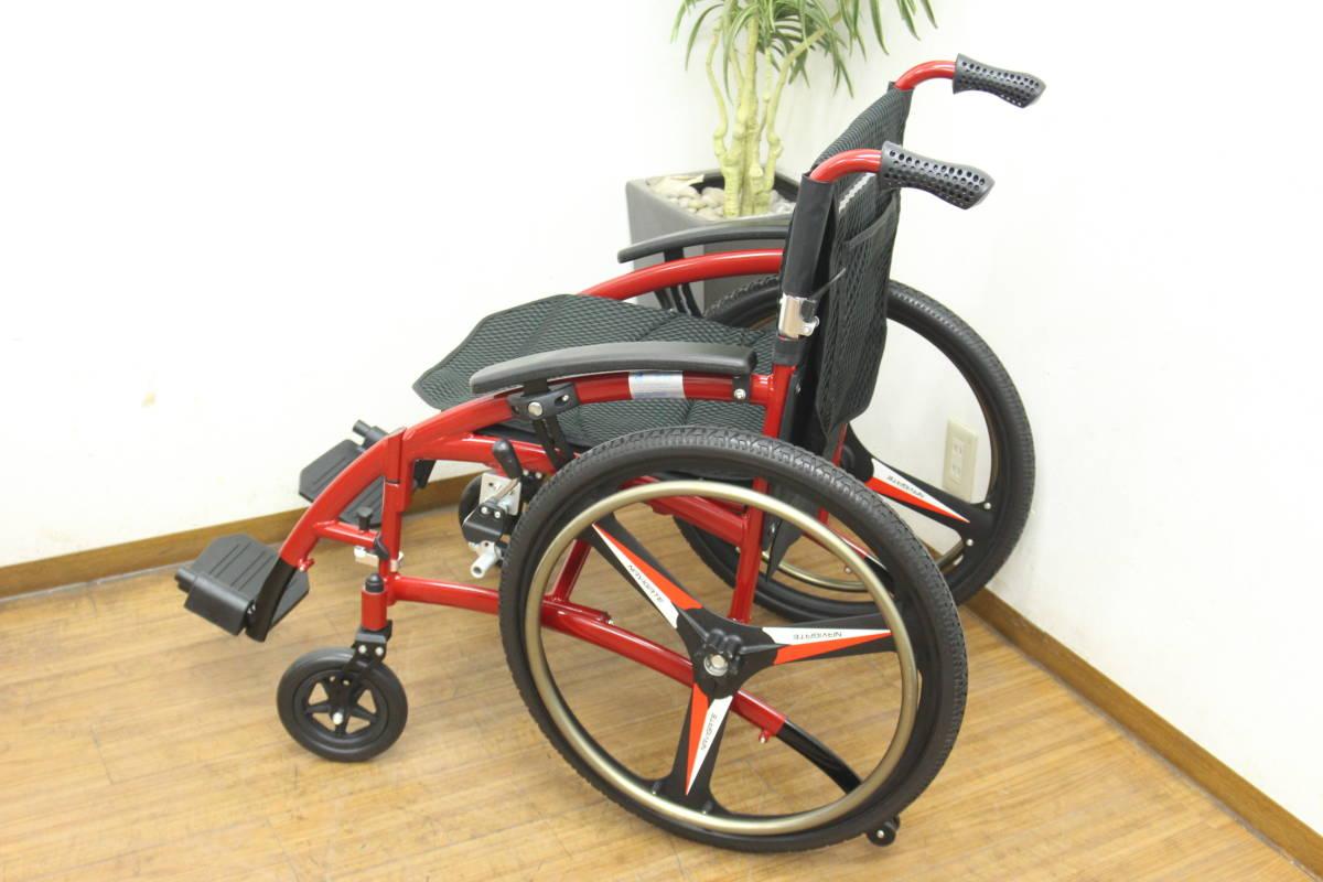 未使用 NAVIGATE 車椅子/車イス 自走式_画像3