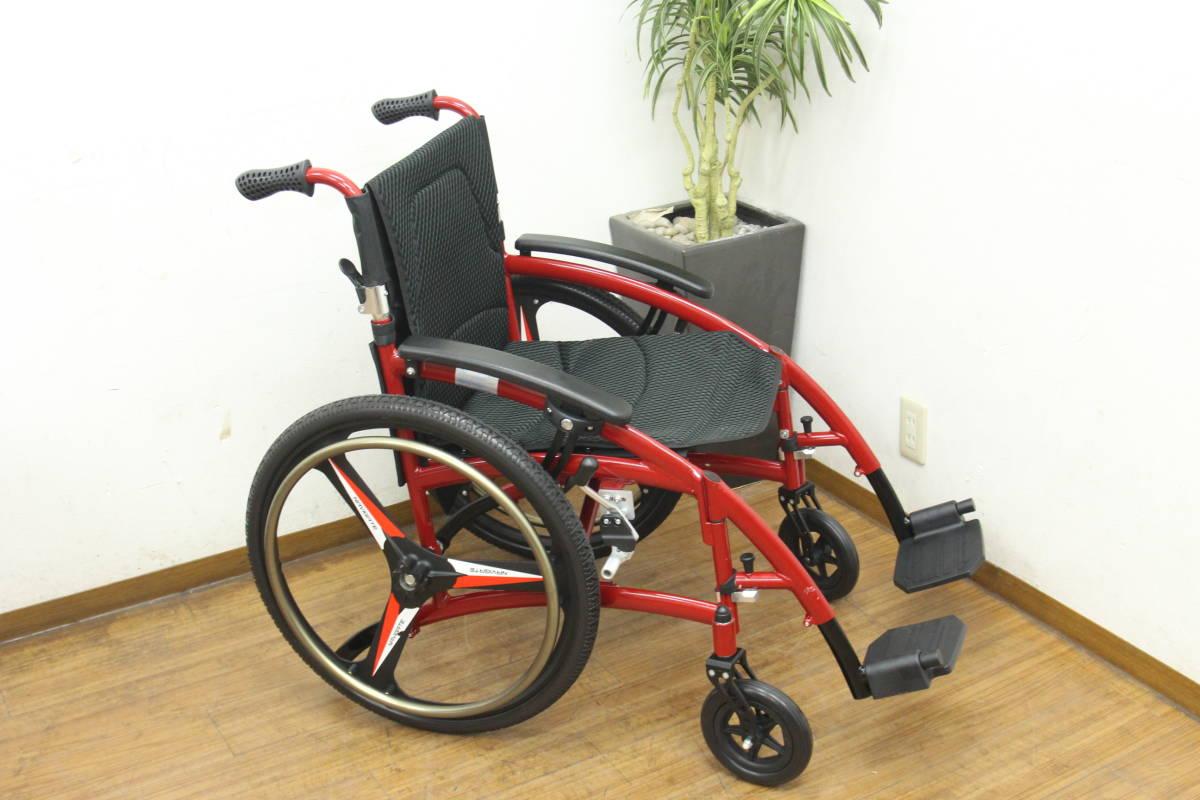 未使用 NAVIGATE 車椅子/車イス 自走式_画像4