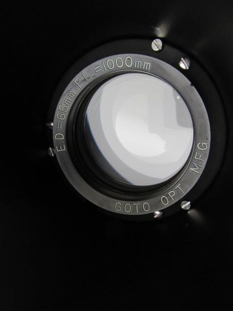 GOTO 五藤光学 天体 望遠鏡 E.D=65mm F.L1000mm ジャンク_画像3