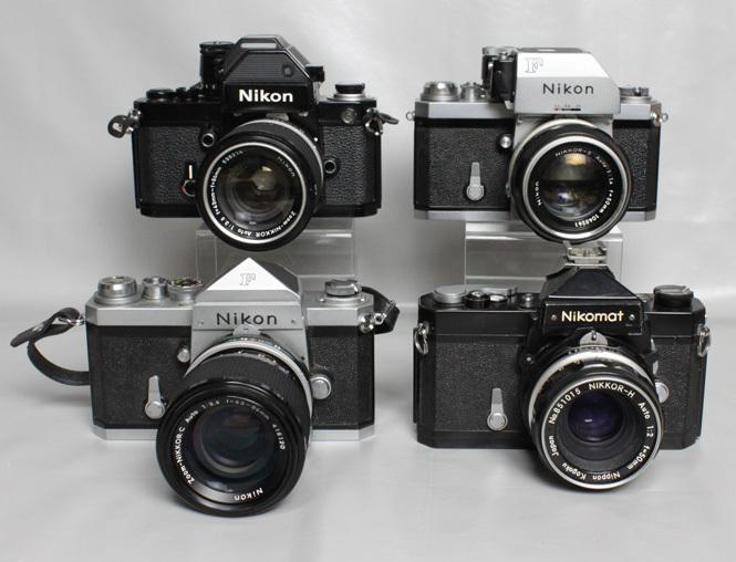 041819 【レトロニコン一眼レフ ジャンク品】 Nikon レトロ一眼レフ&レンズ・ストロボ 合計13点 まとめて_画像2
