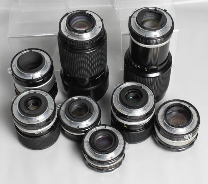041819 【レトロニコン一眼レフ ジャンク品】 Nikon レトロ一眼レフ&レンズ・ストロボ 合計13点 まとめて_画像8