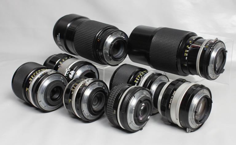 041819 【レトロニコン一眼レフ ジャンク品】 Nikon レトロ一眼レフ&レンズ・ストロボ 合計13点 まとめて_画像10