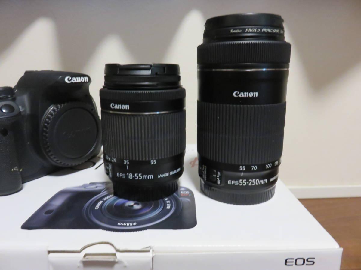 Canon デジタル一眼レフカメラ EOS Kiss X7i ダブルズームキット_画像2
