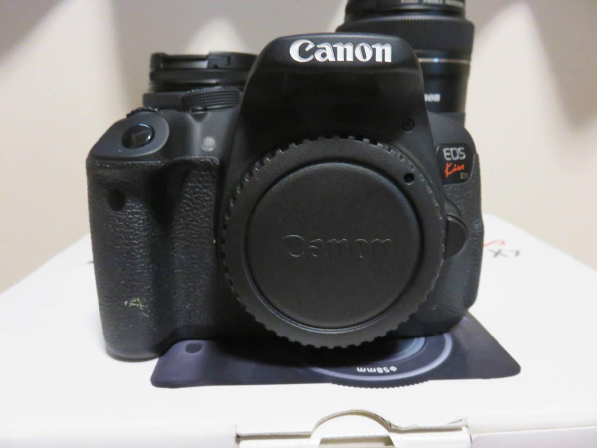Canon デジタル一眼レフカメラ EOS Kiss X7i ダブルズームキット_画像4