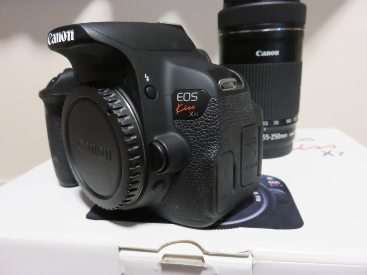 Canon デジタル一眼レフカメラ EOS Kiss X7i ダブルズームキット_画像6