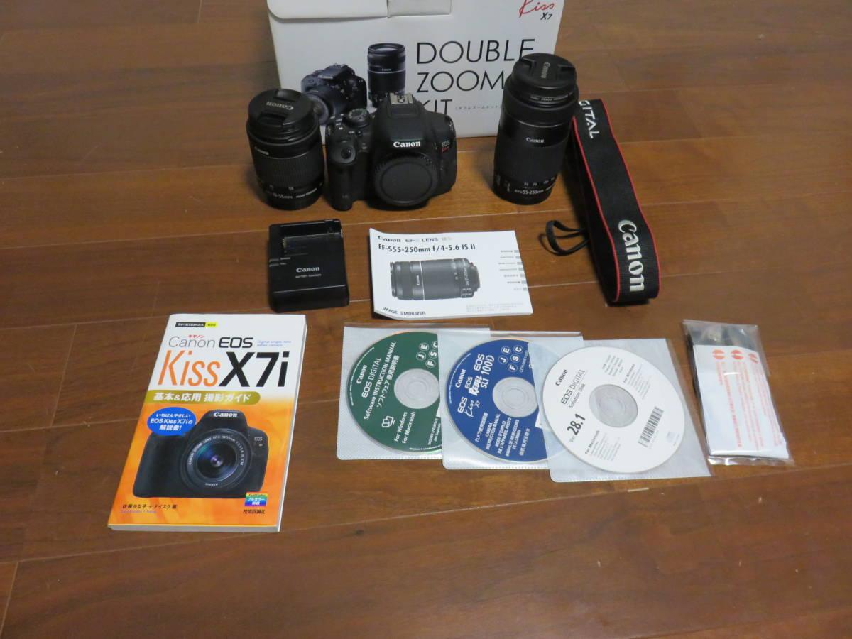 Canon デジタル一眼レフカメラ EOS Kiss X7i ダブルズームキット_画像7