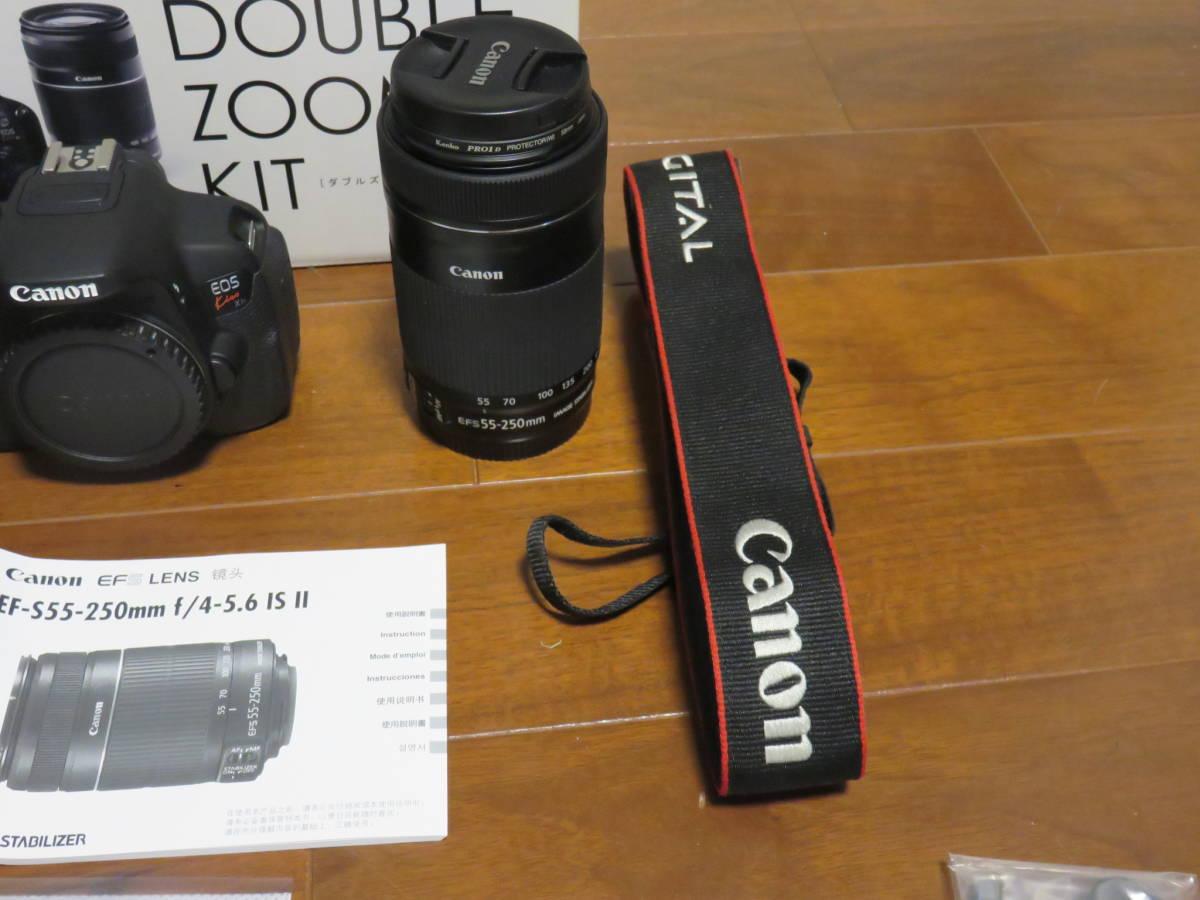 Canon デジタル一眼レフカメラ EOS Kiss X7i ダブルズームキット_画像10