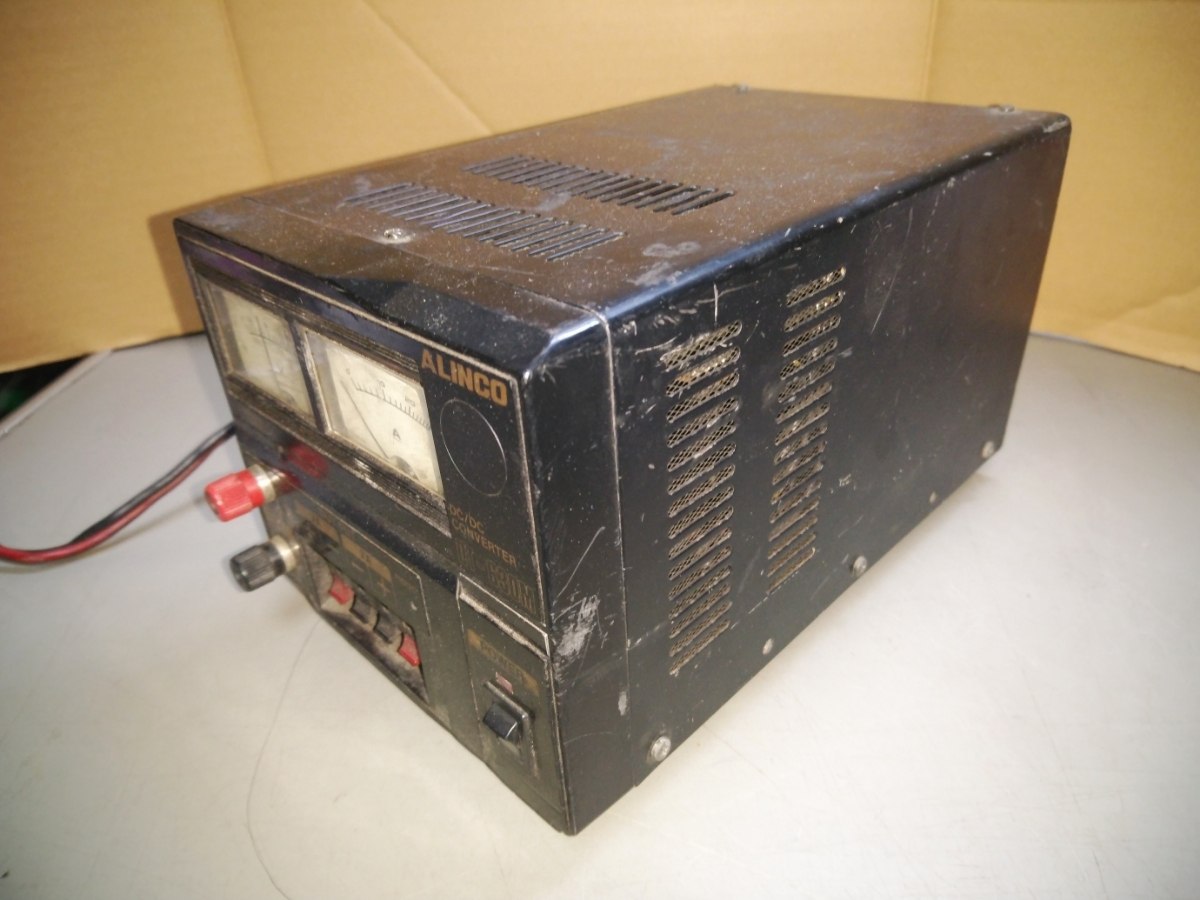 ALINCO/アルインコ DC/DC CONVERTER DT-630M 変圧器 24V~13.8V 30A 中古