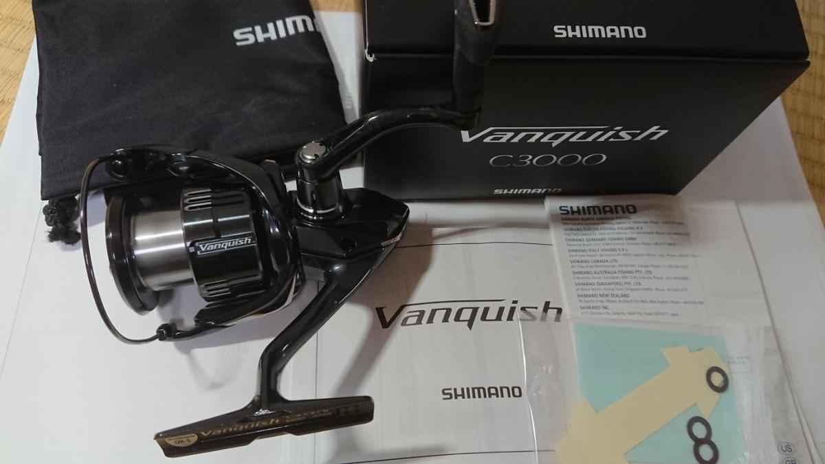 シマノリール 19ヴァンキッシュC3000