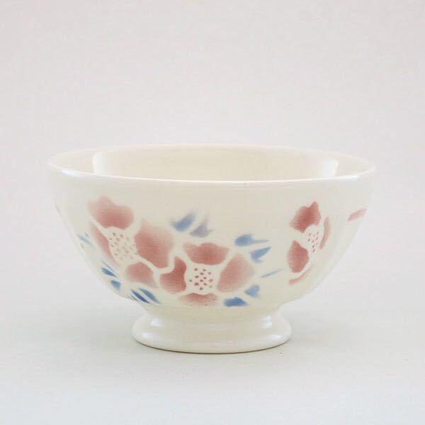 グランシュマン カフェオレボウル 日本製 半磁器 フランス雑貨 花柄 新品