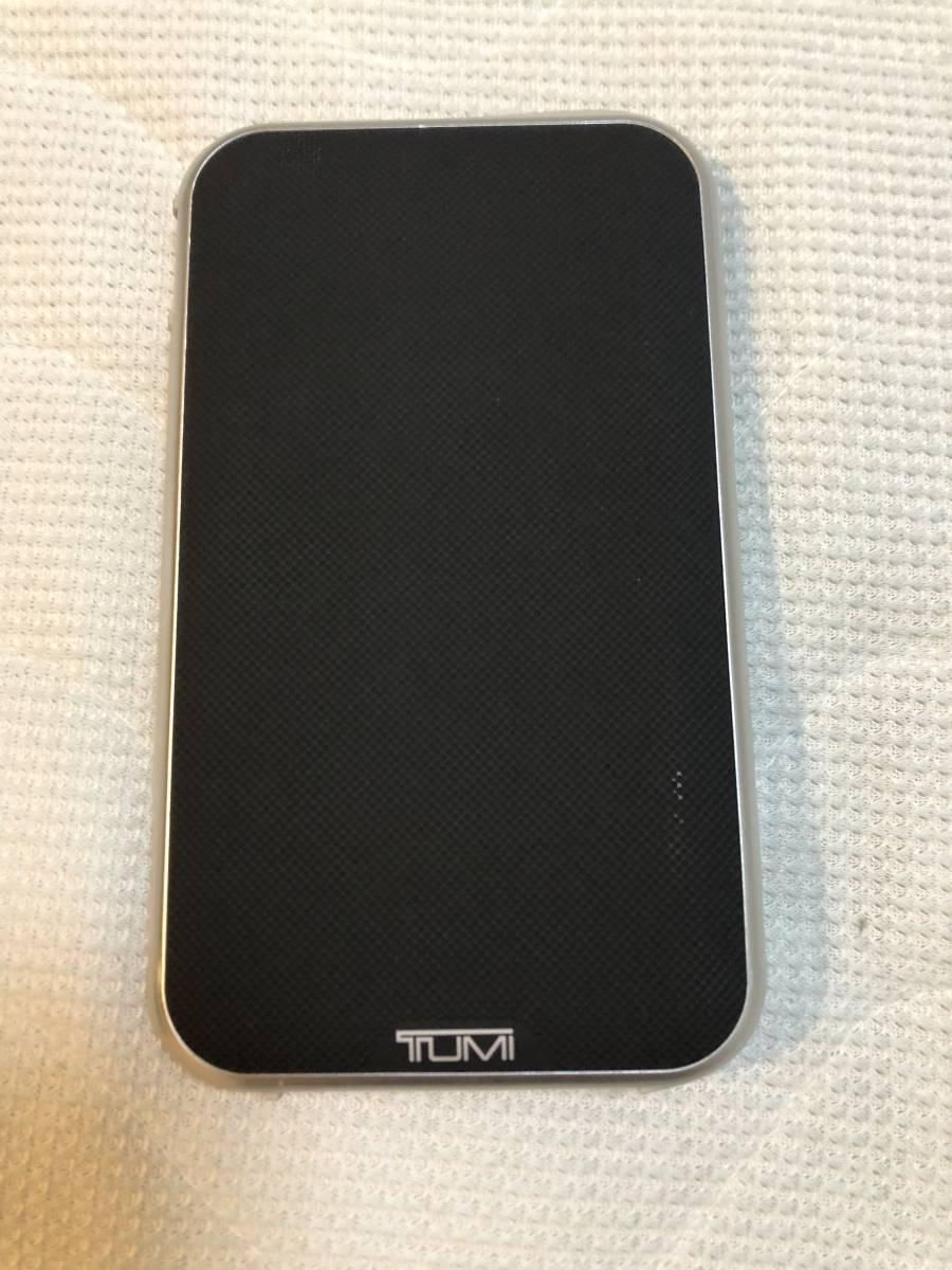 TUMI トゥミ 6000mA 充電器 バッテリー 5V 2.4A USB A Micro B Lightning Apple iPhone iPad Android