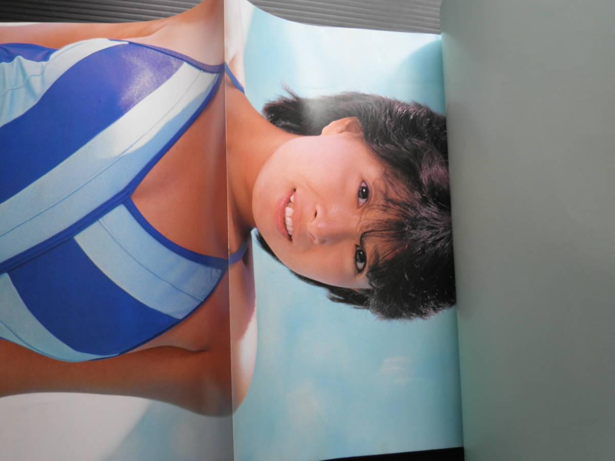 1356/河合奈保子 写真集 LOVELY SUMMER 音楽専科社 1985年初版_画像6