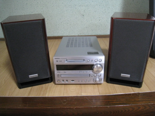 ONKYO MD/CD チューナーアンプ・スピーカー セット FR-N9SX/D-N9SX