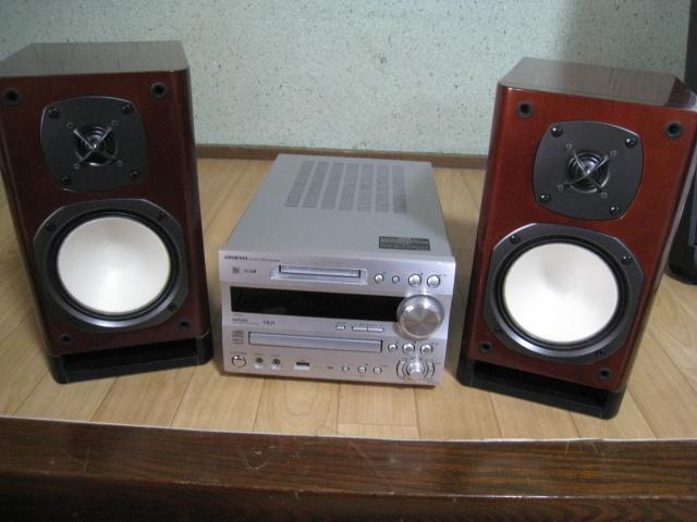 ONKYO MD/CD チューナーアンプ・スピーカー セット FR-N9SX/D-N9SX_画像3