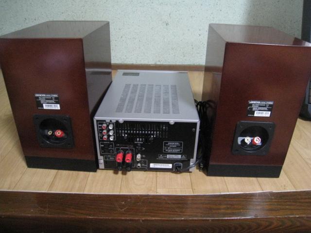 ONKYO MD/CD チューナーアンプ・スピーカー セット FR-N9SX/D-N9SX_画像4