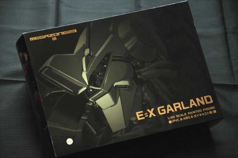 新品■MEGAZONE23 III E=Xガーランド 1/20スケール PVC&ABS&ダイキャスト製フィギュア/メガゾーン23フフリーイング FREEing