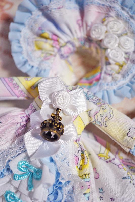 【恋鞠堂】オビツ11サイズ・クラシカルドレス(ゆめかわカルーセル)_画像8