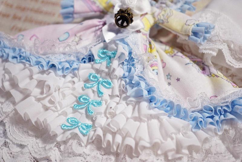 【恋鞠堂】オビツ11サイズ・クラシカルドレス(ゆめかわカルーセル)_画像10