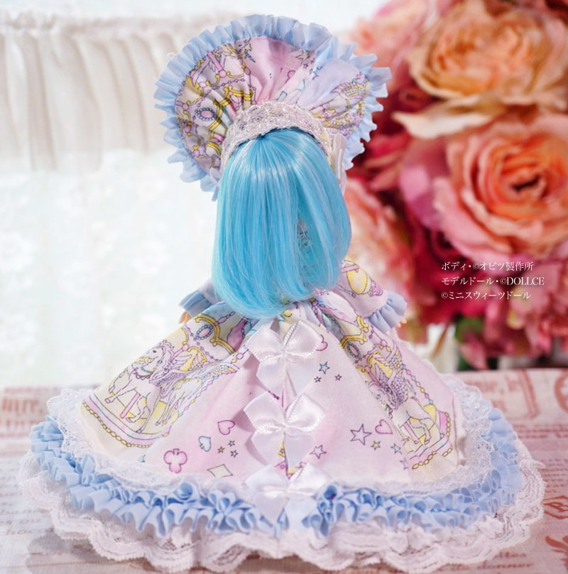 【恋鞠堂】オビツ11サイズ・クラシカルドレス(ゆめかわカルーセル)_画像4