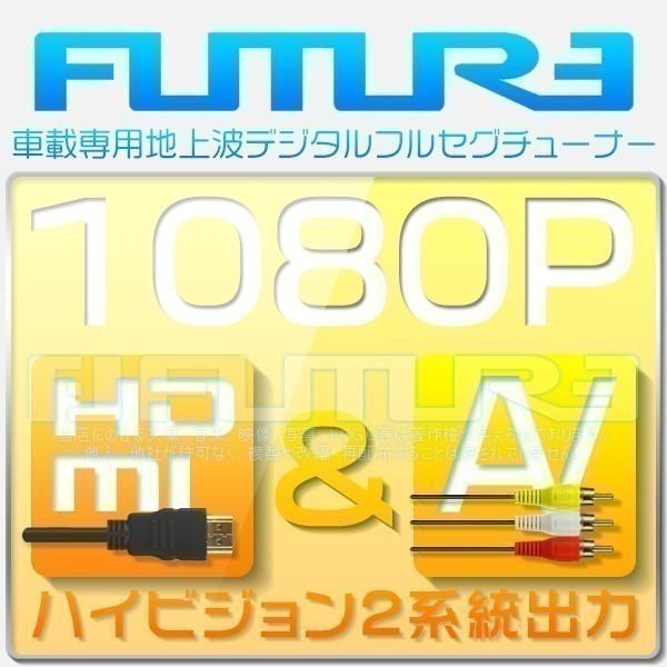 1円~地デジチューナー 車載用 高性能 1080P 4×4 フルセグ ワンセグ HDMI AV出力 カー用品 DC12V~24V 1年保証_画像2