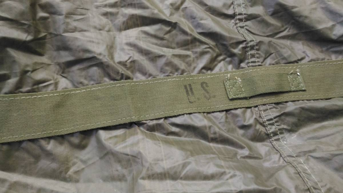 WW2 米軍 山岳二人用防水テント 「TENT, MOUNTAIN, 2-MAN」 1944年製 実物 _画像7