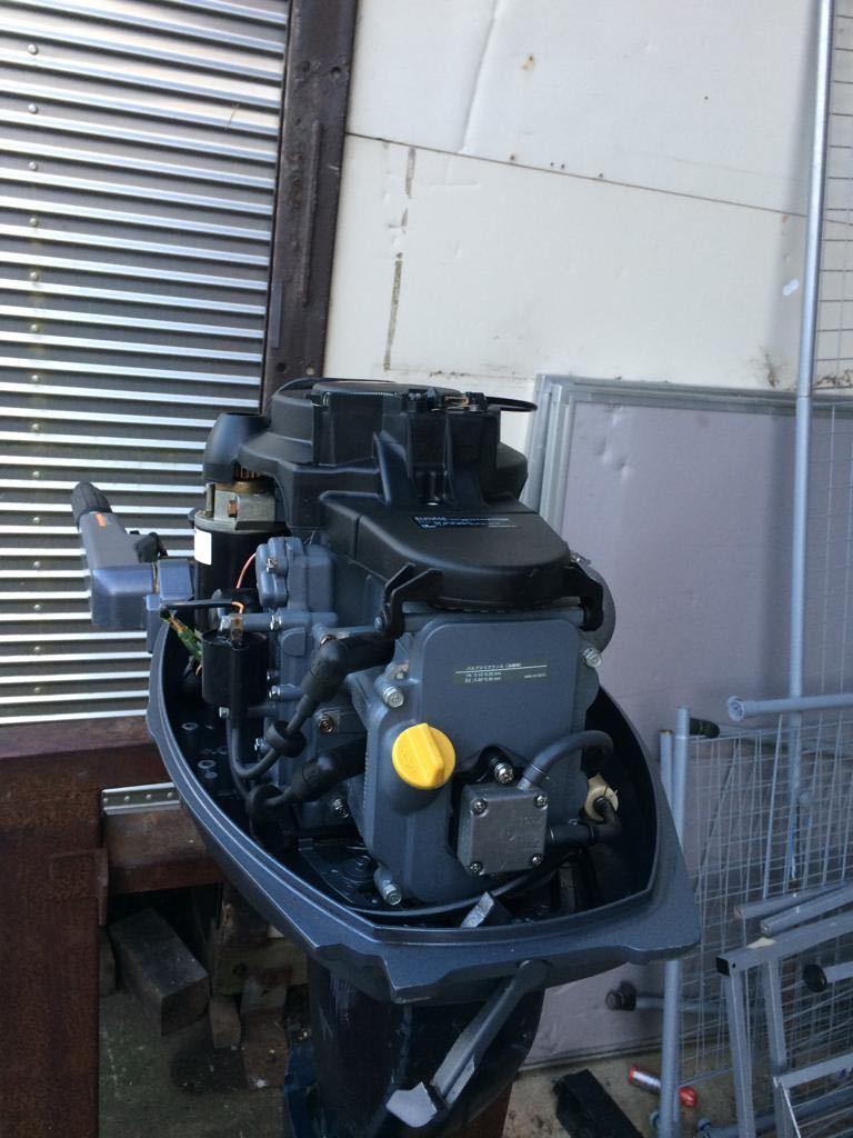 Yamaha F15 AWH 4 stroke ヤマハ _画像2