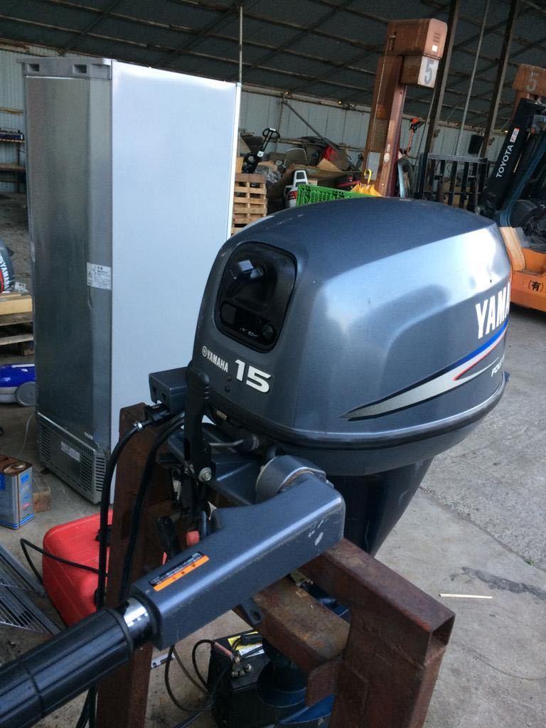 Yamaha F15 AWH 4 stroke ヤマハ _画像3