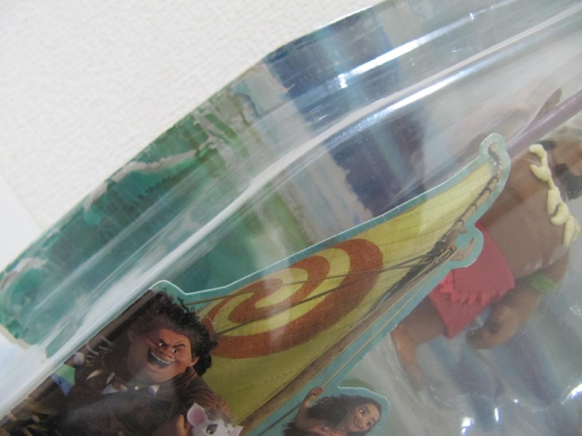 Disney Moana ディズニー モアナと伝説の海 アドベンチャードール コレクションパック モアナ フィギュア セット TAKARA TOMY タカラトミー_画像8