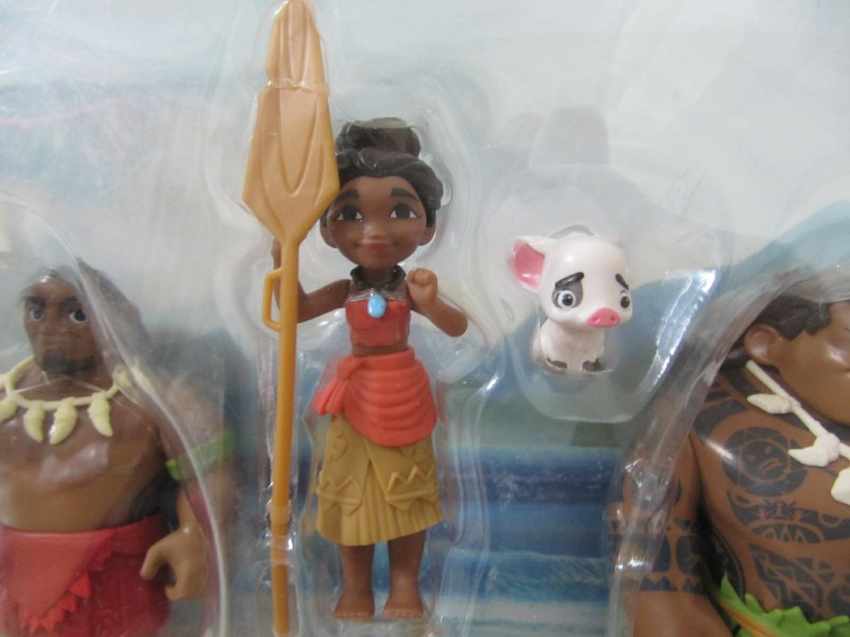 Disney Moana ディズニー モアナと伝説の海 アドベンチャードール コレクションパック モアナ フィギュア セット TAKARA TOMY タカラトミー_画像3