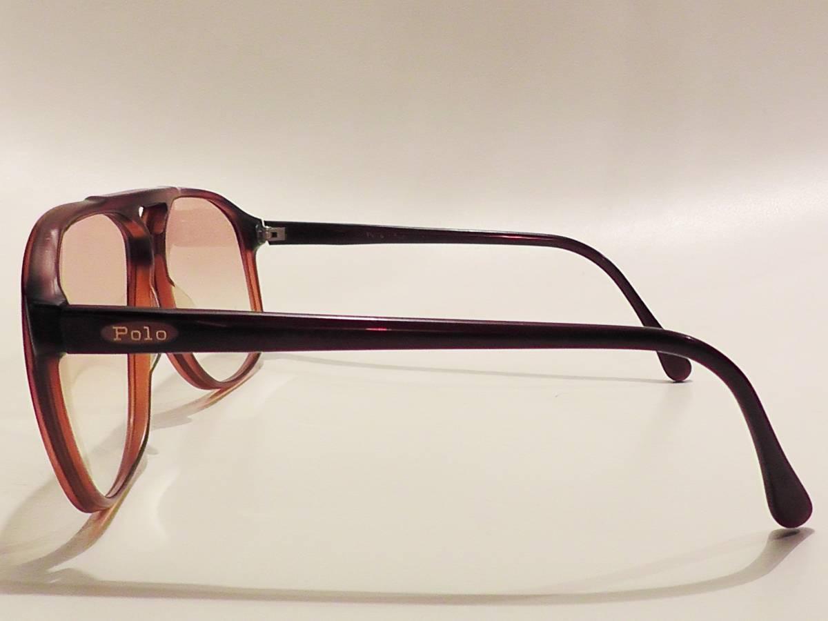 K25818 Polo Ralph Lauren/ポロ ラルフローレン ビンテージサングラス_画像4