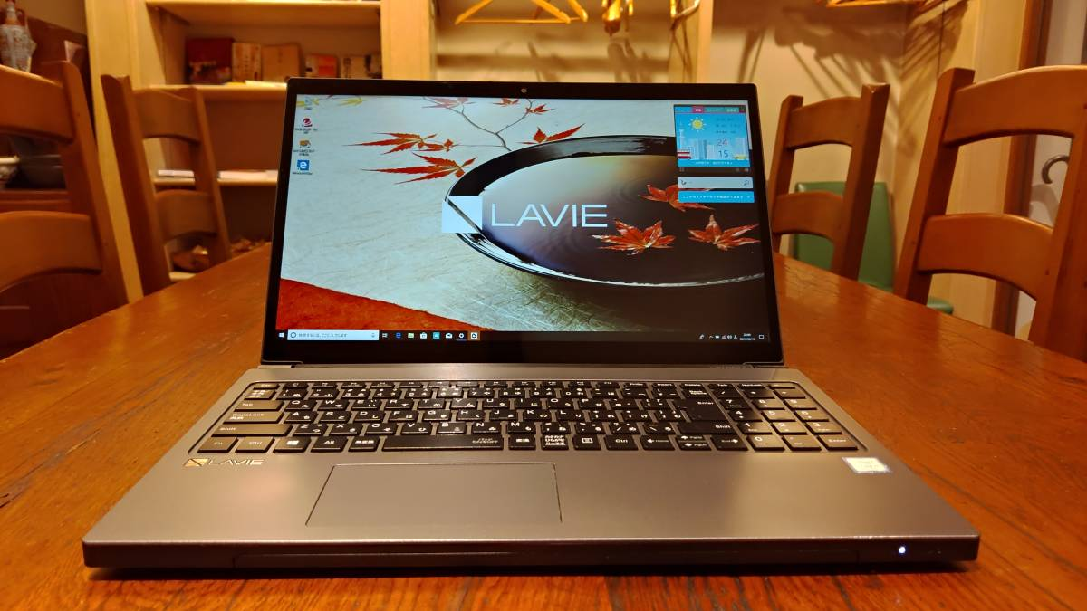 良品 2017年 上位モデル フルHD NEC 高速SSD Lavie NX750/JA Core i7-8550U 4コア 8G 新SSD480GB ブルーレイoffce2016