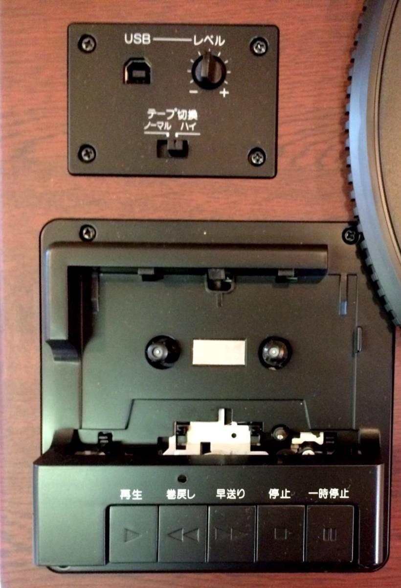 k981/TEAC LP-R550USB レコードプレーヤー ターンテーブル 2014年製_画像3