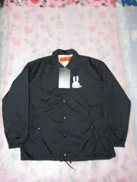 CUNE キューン ナイロンコーチジャケットウサギC.U.N.E(黒色)XLサイズ 新品