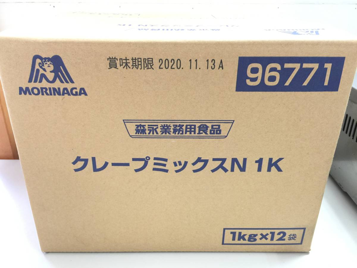 ■NICHIWA/ニチワ 電気クレープ機 CM-410 未開封クレープミックスN 1K(12Kg)セット■1026-上_画像8
